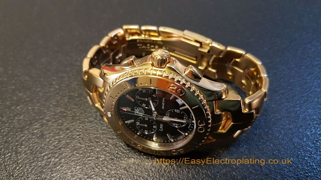 Gold Plating Watches & Clocks