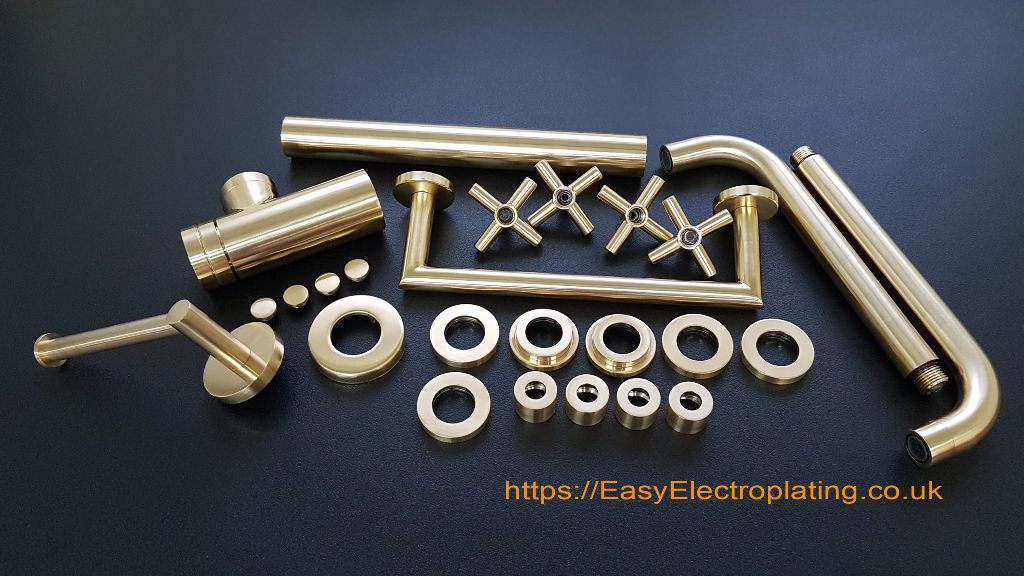 Gold Plating Taps & Bathroom Fittings